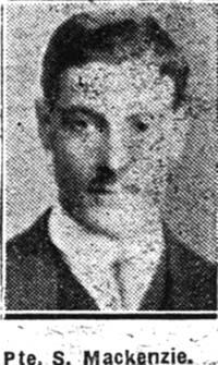 Mackenzie S, Pte, Ullapool