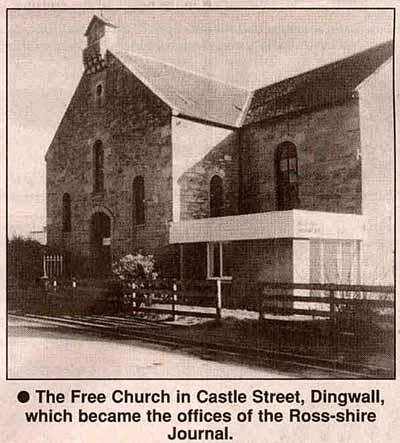 Free Church, Castle Street, Dingwall
