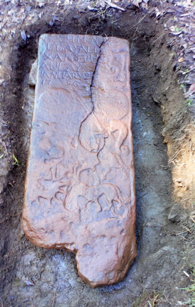 Pictish Stone in Location
