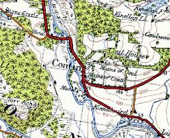 Map of Contin area