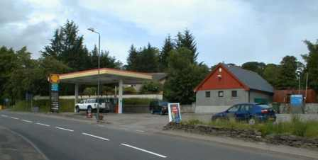 Contin garage and petrol station