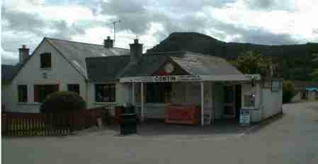 Contin shop and post office
