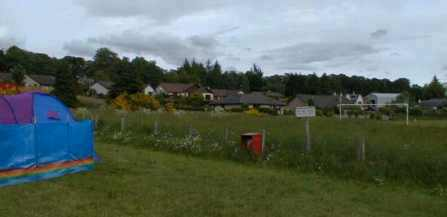 Contin football pitch