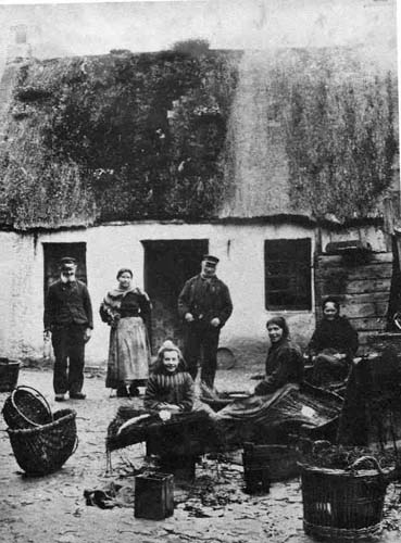 Cromarty fisherfolk c.1900.