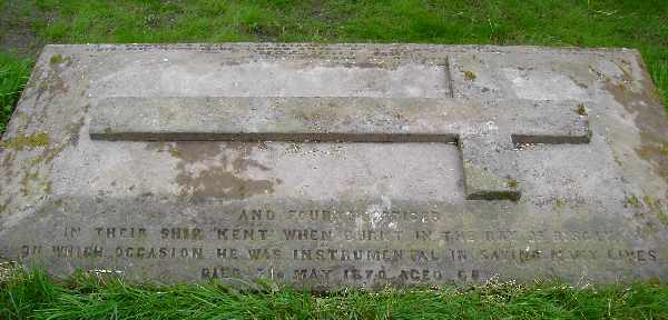 Lieutenant John Thomson - grave