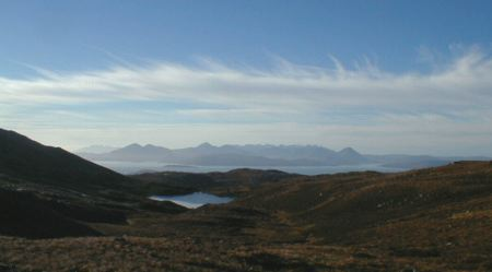 View from the Bealach nam Bo.