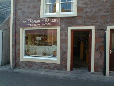 The Cromarty Bakery, also in Bank Street.