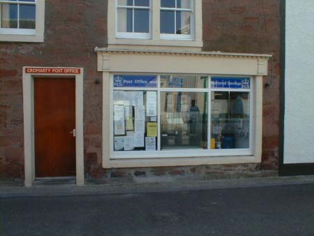 Cromarty Post Office, in Bank Street.