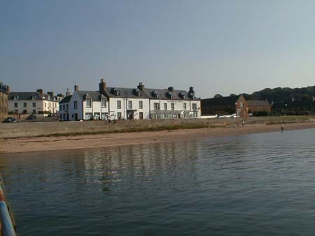 The Royal Hotel, Marine Terrace, as viewed from the harbour.