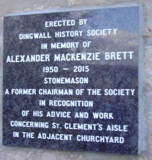 Alexander M Brett