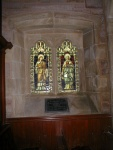 Windows dedicated to Saint Andrew & Saint Columba