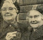 Mrs Brown and Mrs Hay