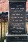 Rev. John Baillie Memorial Stone