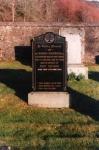 Rev Norman Macdonald memorial stone.
