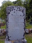 Garve gravestone