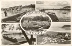Early postcard showing several views of the Avoch harbour area and one of Munlochy Bay.