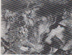 Evanton airfield seen from 8000ft in 1942 before construction of paved runways.