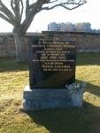 Gravestone of Roderick Treasurer McIntosh and his wife Anne Penn Steel