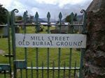 Mill Street old burial ground entrance