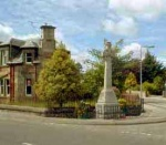 Maryburgh War Memorial is situated at the junction of Hood Street and Proby Street