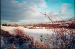 Winter view from Dunglass Road.