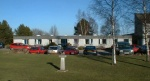 The former Urray House care home, now demolished but replaced by a new unit in its grounds on the A862 road to Beauly
