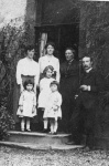 Rev Norman Mackay, sister, wife, mother and children.