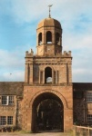 The imposing entrance to Conan Mains built in 1822