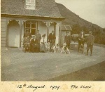 12 August 1909.  The start.