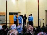 School pupils entertain - On chanters