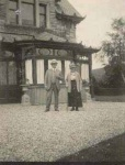 Rondebosch (now Dunnichen) in the 1930s, with Provost Andrew Murray (Dingwall) and his wife Margaret.