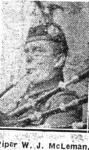 Macleman William J, Piper, Avoch