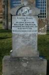 Grave of Malcolm Finlayson