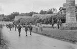 Norwegian Brigade at Contin War Memorial in 1943