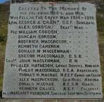 Shieldaig War Memorial