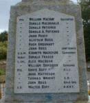 Tarbat (Portmahomack) War Memorial