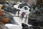 Footbridge at Rogie falls