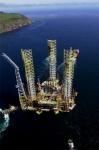 Elf Drilling Platform
